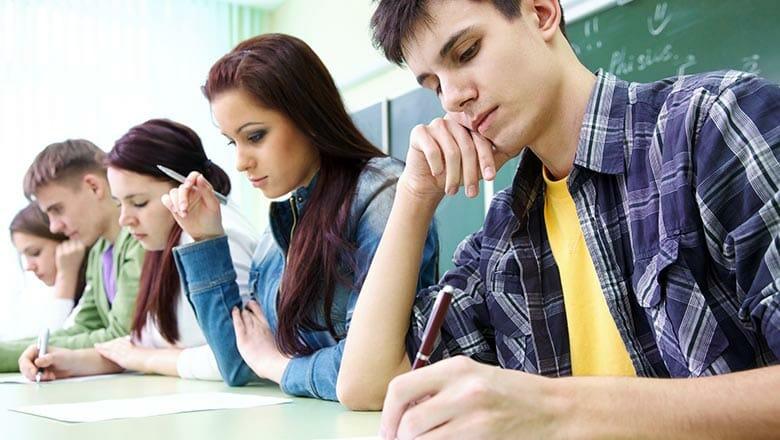 школьный экзамен