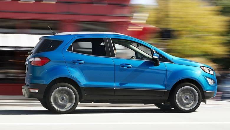 Ford Ecosport 2018 сбоку