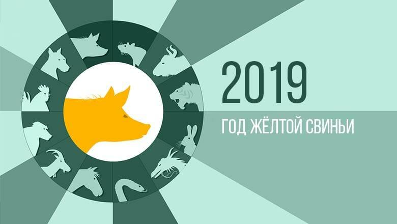 2019 год какого животного по восточному календарю