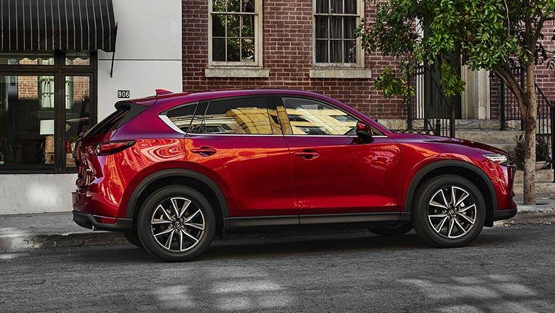 Mazda CX‑5 2019 вид справа