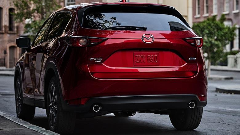 Mazda CX‑5 2019 вид сзади