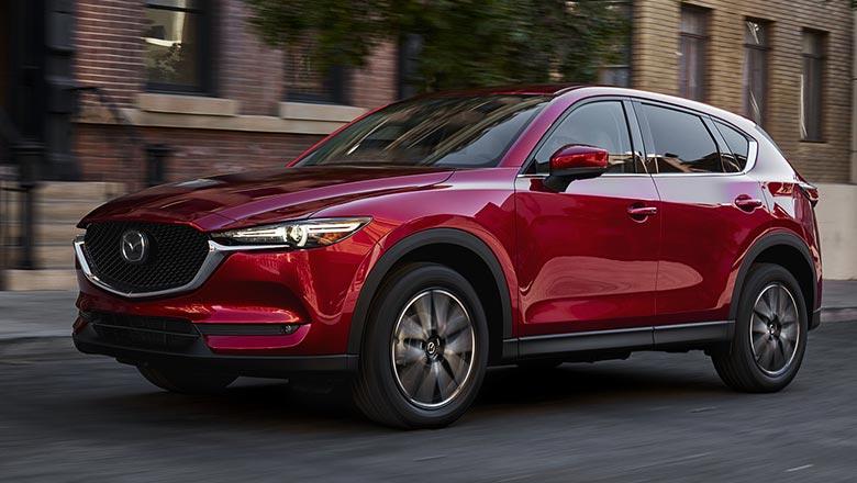 Mazda CX‑5 2019 вид спереди