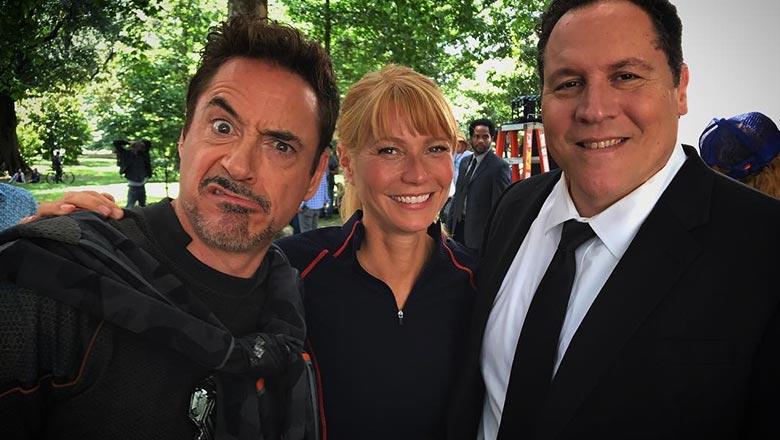 Avengers 4 frame from shooting