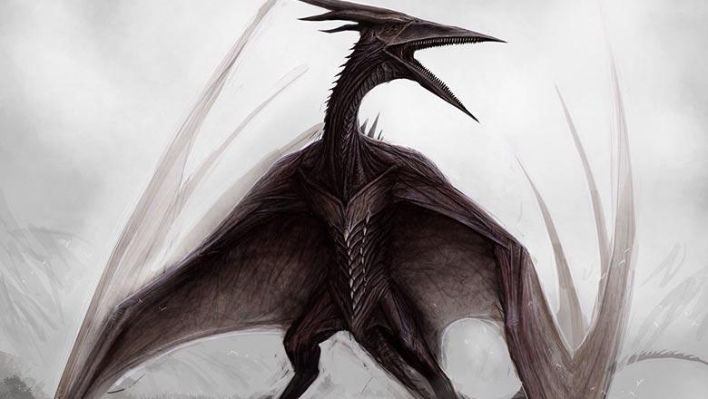 Godzilla 2 sketches
