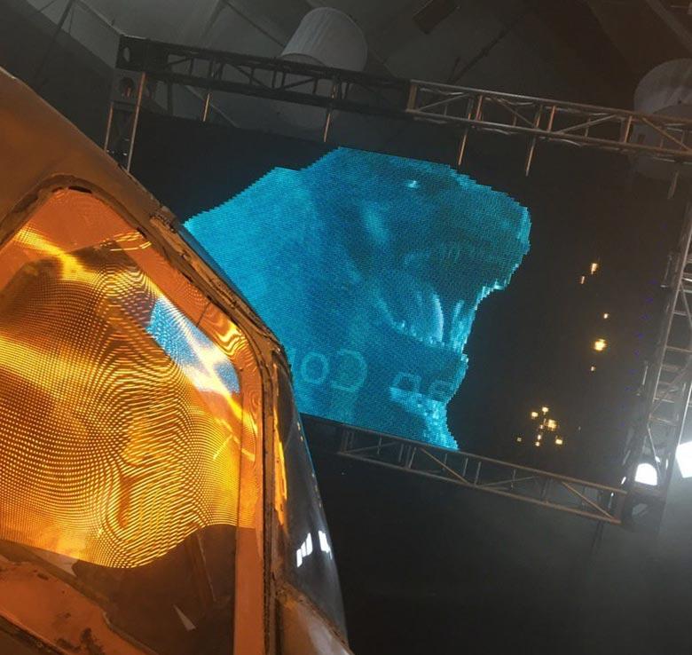 Godzilla 2 photos from filming