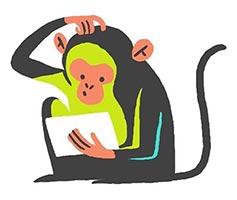 думающая обезьяна
