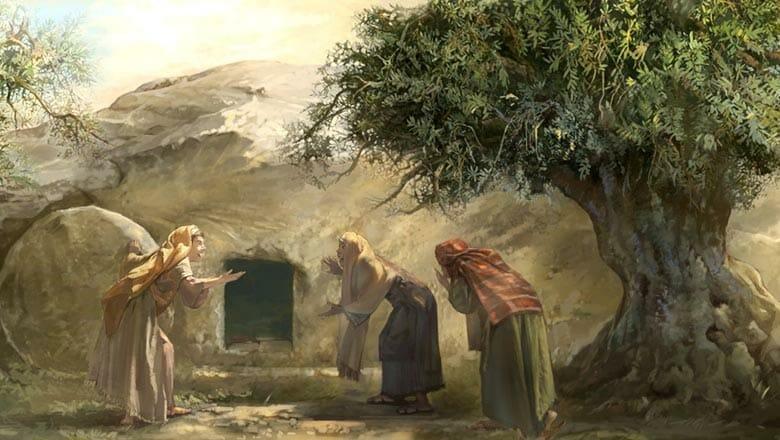 пустой склеп Иисуса