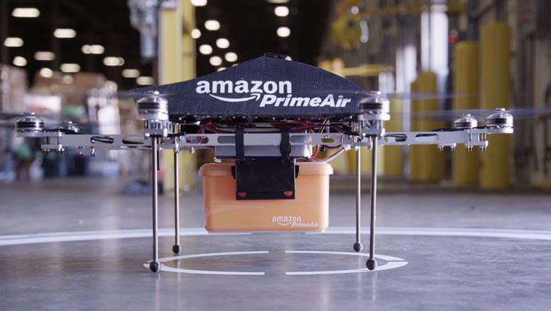 Служба доставки с помощью дронов