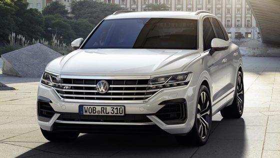 Volkswagen Touareg 2019 фото