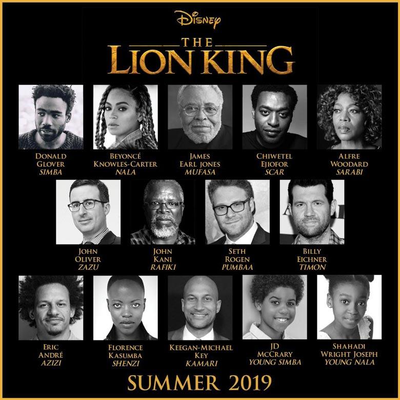 Король Лев 2019 актеры