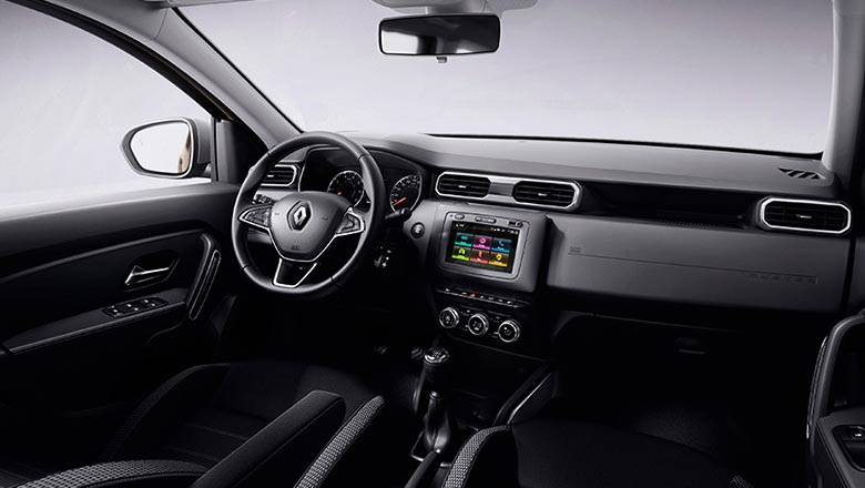 Renault Duster 2018 2019 interior