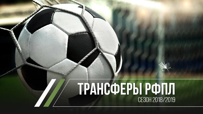 Трансферы РФПЛ 2018/2019