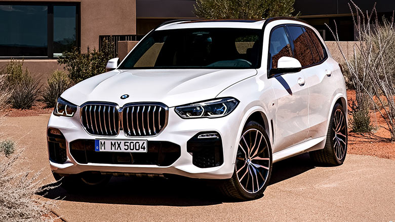 New BMW X5 2019 front