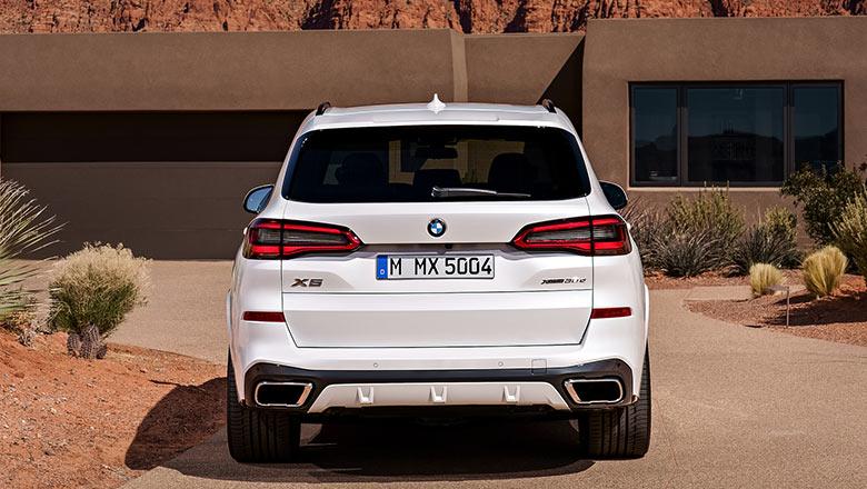 new BMW x5 2019 rear