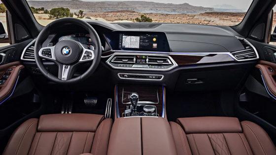 new BMW x5 2019 interior