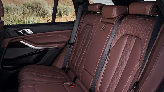 new bmw x5 2019 rear seats
