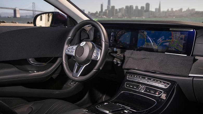 Mercedes-Benz GLS 2019 интерьер