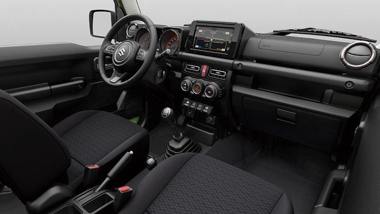 Suzuki Jimny 2019 fotoğraf iç