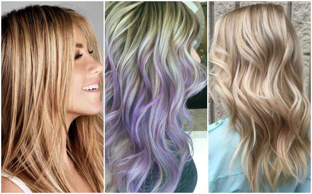 оттенение русых волос