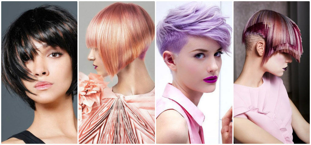 модные тенденции окрашивания коротких волос