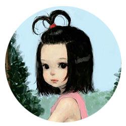 девочка арт