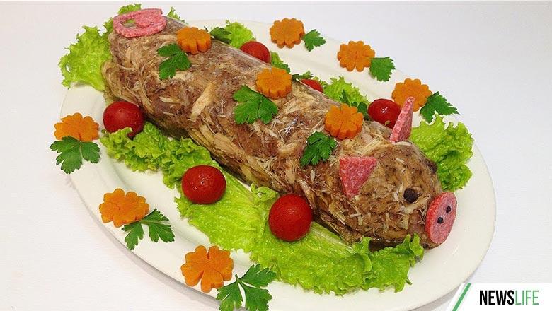 Холодная закуска «Свинка»