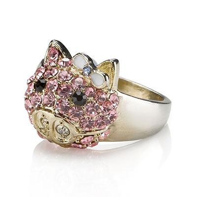 свинка кольцо