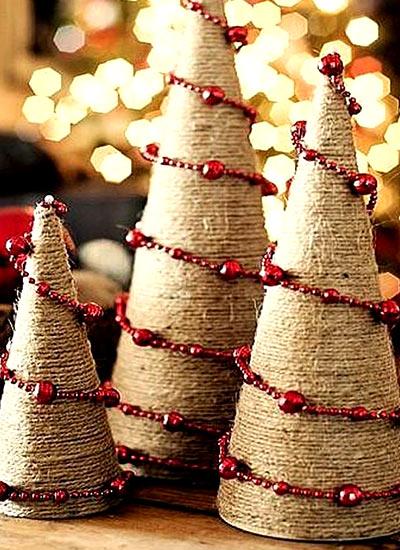 новогодний декор елочка