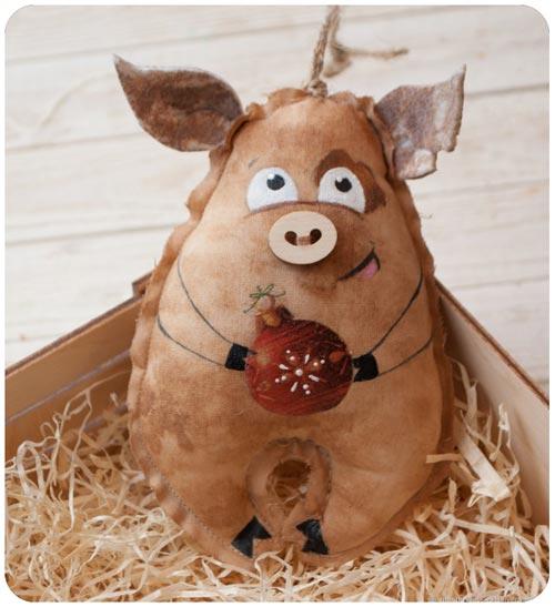 свинка поделка