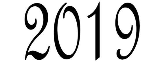 2019 трафарет
