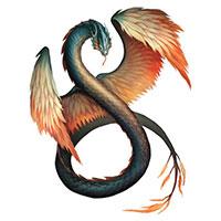 пернатый дракон