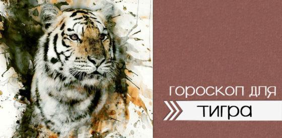 гороскоп тигра на 2020
