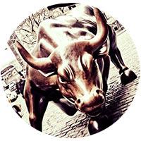 бык скульптура